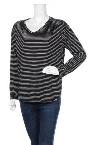Γυναικεία μπλούζα Faded Glory, Μέγεθος L, Χρώμα Μαύρο, 65% βαμβάκι, 35% πολυεστέρας, Τιμή 6,43€