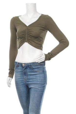 Γυναικεία μπλούζα Forever 21, Μέγεθος M, Χρώμα Πράσινο, 92% πολυεστέρας, 8% ελαστάνη, Τιμή 9,38€