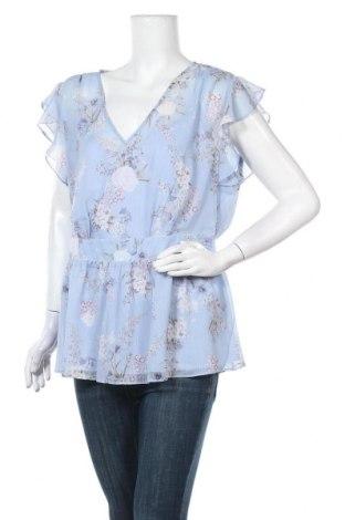 Γυναικεία μπλούζα Forever New, Μέγεθος XL, Χρώμα Μπλέ, Πολυεστέρας, Τιμή 13,42€