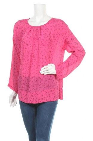Дамска блуза Funky Staff, Размер M, Цвят Розов, 70% вискоза, 30% коприна, Цена 33,00лв.