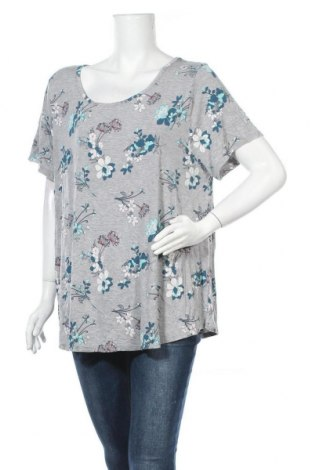Γυναικεία μπλούζα George, Μέγεθος XXL, Χρώμα Πολύχρωμο, 95% βισκόζη, 5% ελαστάνη, Τιμή 11,69€