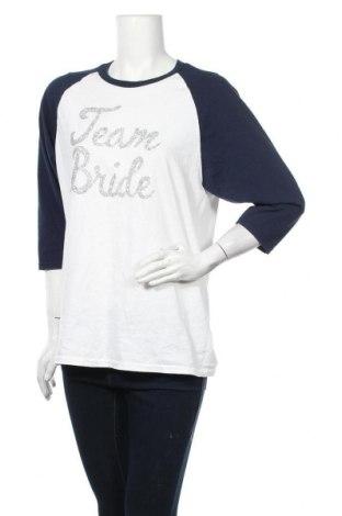 Дамска блуза Gildan, Размер M, Цвят Бял, Памук, Цена 18,90лв.