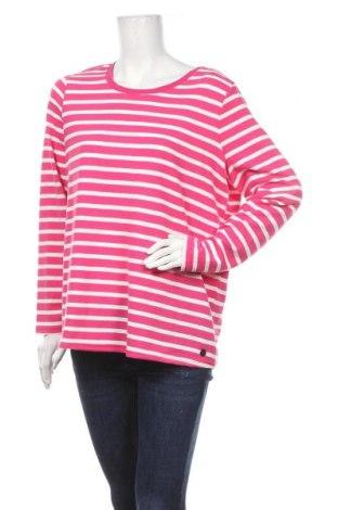 Дамска блуза Gina, Размер XL, Цвят Розов, Памук, Цена 16,80лв.