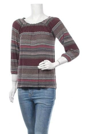 Дамска блуза Gina, Размер M, Цвят Многоцветен, 95% вискоза, 5% еластан, Цена 14,28лв.