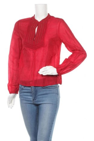 Γυναικεία μπλούζα H&M Conscious Collection, Μέγεθος S, Χρώμα Κόκκινο, 73% lyocell, 27% πολυεστέρας, Τιμή 12,53€