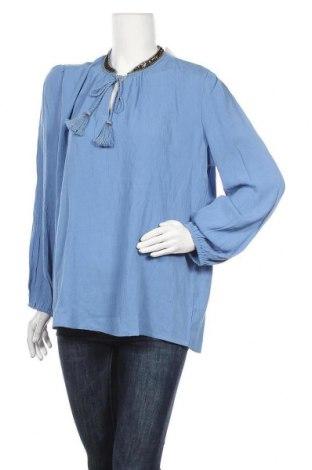 Γυναικεία μπλούζα Heine, Μέγεθος XL, Χρώμα Μπλέ, Βισκόζη, Τιμή 12,57€