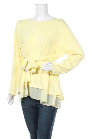 Γυναικεία μπλούζα Heine, Μέγεθος XXL, Χρώμα Κίτρινο, 95% βισκόζη, 5% ελαστάνη, Τιμή 16,08€