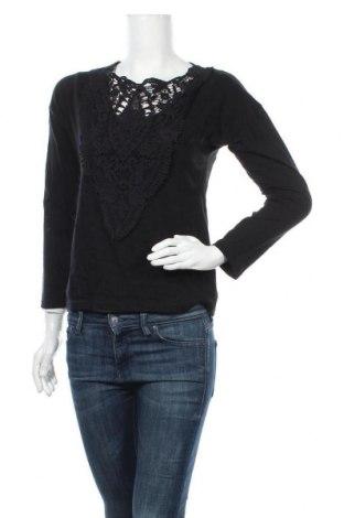 Γυναικεία μπλούζα House, Μέγεθος S, Χρώμα Μαύρο, Βαμβάκι, Τιμή 11,72€