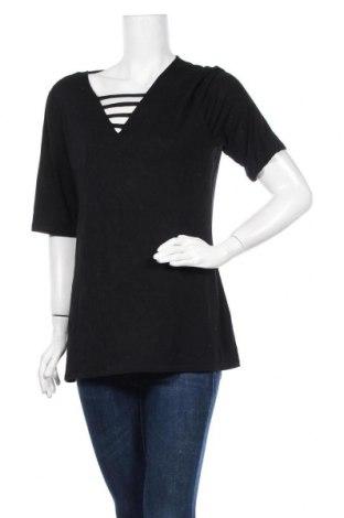 Γυναικεία μπλούζα INC International Concepts, Μέγεθος XL, Χρώμα Μαύρο, 95% βισκόζη, 5% ελαστάνη, Τιμή 17,28€