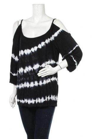 Γυναικεία μπλούζα INC International Concepts, Μέγεθος XL, Χρώμα Μαύρο, Βισκόζη, Τιμή 11,04€