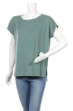 Γυναικεία μπλούζα Ichi, Μέγεθος L, Χρώμα Πράσινο, 46% πολυεστέρας, 46% βισκόζη, 5% ελαστάνη, 3% μεταλλικά νήματα, Τιμή 11,11€