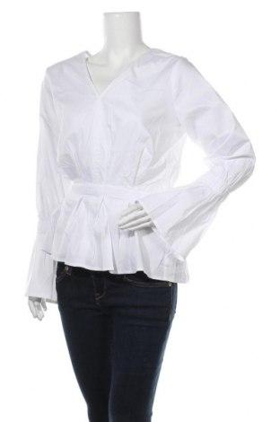 Γυναικεία μπλούζα In Wear, Μέγεθος M, Χρώμα Λευκό, 65% βαμβάκι, 32% πολυαμίδη, 3% ελαστάνη, Τιμή 26,22€