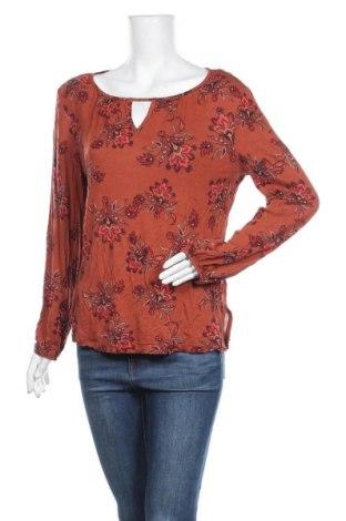 Γυναικεία μπλούζα Indiska, Μέγεθος L, Χρώμα Πορτοκαλί, Βισκόζη, Τιμή 8,18€