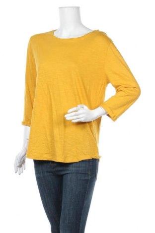 Γυναικεία μπλούζα Infinity Woman, Μέγεθος M, Χρώμα Κίτρινο, 50% βαμβάκι, 50% βισκόζη, Τιμή 5,71€