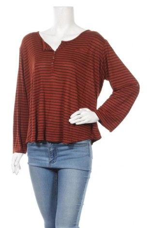 Γυναικεία μπλούζα Infinity Woman, Μέγεθος XL, Χρώμα Πορτοκαλί, 65% βισκόζη, 35% πολυεστέρας, Τιμή 5,85€