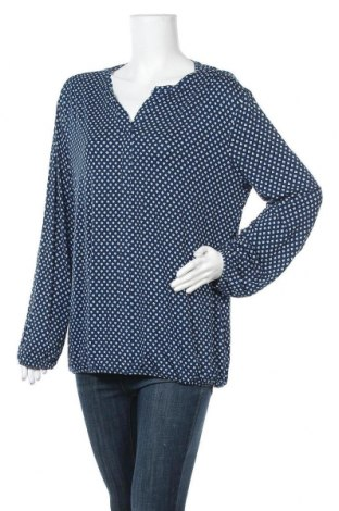 Γυναικεία μπλούζα Iwie, Μέγεθος L, Χρώμα Μπλέ, 95% βισκόζη, 5% ελαστάνη, Τιμή 12,34€