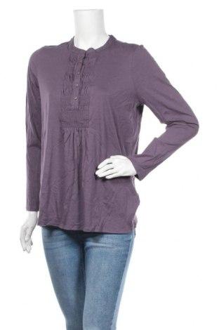 Γυναικεία μπλούζα J.Jill, Μέγεθος L, Χρώμα Βιολετί, 60% βαμβάκι, 40% μοντάλ, Τιμή 16,37€