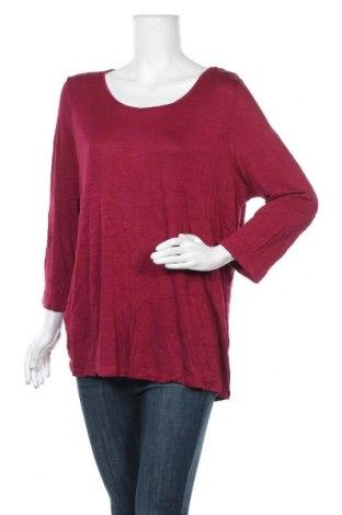 Γυναικεία μπλούζα Jeanswest, Μέγεθος XL, Χρώμα Κόκκινο, 80% βισκόζη, 20% βαμβάκι, Τιμή 22,08€