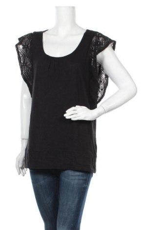Γυναικεία μπλούζα Jeanswest, Μέγεθος XL, Χρώμα Μαύρο, 50% βαμβάκι, 50% βισκόζη, Τιμή 23,38€