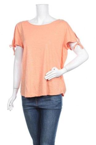 Γυναικεία μπλούζα Jeanswest, Μέγεθος XL, Χρώμα Πορτοκαλί, Βαμβάκι, Τιμή 9,74€
