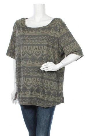 Γυναικεία μπλούζα John Baner, Μέγεθος XL, Χρώμα Πράσινο, Βαμβάκι, Τιμή 9,94€