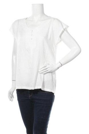 Дамска блуза Kaffe, Размер M, Цвят Бял, Вискоза, Цена 51,75лв.