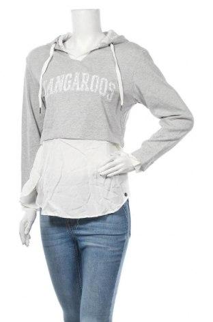 Γυναικεία μπλούζα Kangaroos, Μέγεθος S, Χρώμα Γκρί, Βαμβάκι, Τιμή 22,21€
