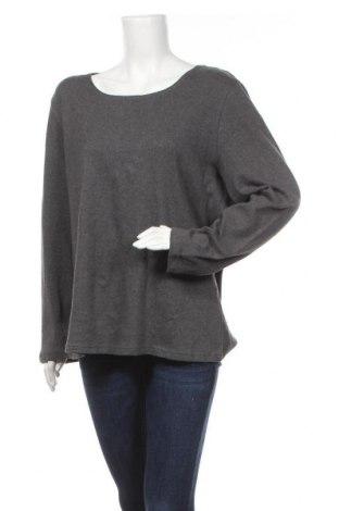 Дамска блуза Karen Scott, Размер XXL, Цвят Сив, Памук, Цена 8,40лв.