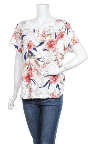 Дамска блуза Karen Scott, Размер XL, Цвят Многоцветен, 60% памук, 40% полиестер, Цена 16,07лв.