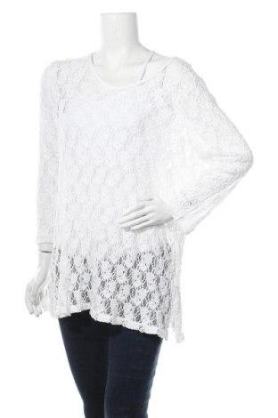 Γυναικεία μπλούζα W. Lane, Μέγεθος XL, Χρώμα Λευκό, 60% βισκόζη, 35% πολυαμίδη, 5% ελαστάνη, Τιμή 12,34€
