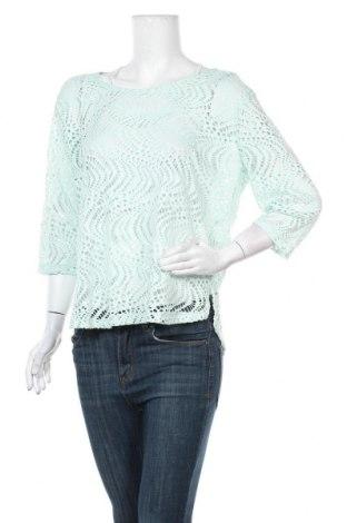 Γυναικεία μπλούζα Kenny S., Μέγεθος M, Χρώμα Πράσινο, 96% πολυεστέρας, 4% ελαστάνη, Τιμή 7,18€
