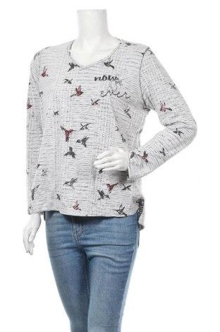 Γυναικεία μπλούζα Kenny S., Μέγεθος L, Χρώμα Γκρί, 70% βαμβάκι, 30% πολυεστέρας, Τιμή 11,69€