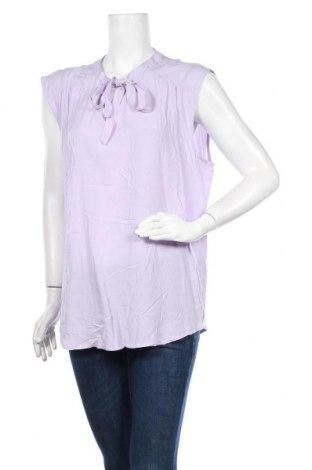 Γυναικεία μπλούζα Khoko, Μέγεθος XL, Χρώμα Βιολετί, Βισκόζη, Τιμή 12,96€