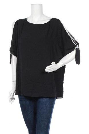 Γυναικεία μπλούζα Khoko, Μέγεθος XL, Χρώμα Μαύρο, Πολυεστέρας, Τιμή 11,69€