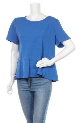 Γυναικεία μπλούζα Khoko, Μέγεθος XL, Χρώμα Μπλέ, Πολυεστέρας, ελαστάνη, Τιμή 11,11€