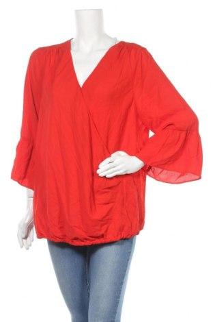 Γυναικεία μπλούζα Khoko, Μέγεθος XL, Χρώμα Κόκκινο, Πολυεστέρας, Τιμή 7,27€