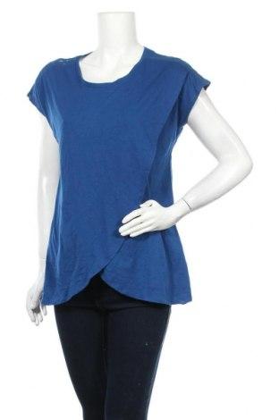 Γυναικεία μπλούζα Kiabi, Μέγεθος L, Χρώμα Μπλέ, 66% πολυεστέρας, 34% βαμβάκι, Τιμή 17,28€