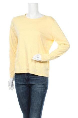 Дамска блуза L.L. Bean, Размер L, Цвят Жълт, Памук, Цена 7,88лв.