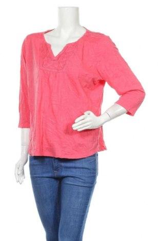 Дамска блуза L.L. Bean, Размер XL, Цвят Розов, Памук, Цена 17,85лв.