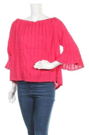 Γυναικεία μπλούζα Lee Cooper, Μέγεθος XL, Χρώμα Ρόζ , Βαμβάκι, βισκόζη, Τιμή 9,94€