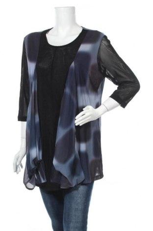 Дамска блуза Lilia, Размер XL, Цвят Многоцветен, Полиестер, Цена 8,51лв.