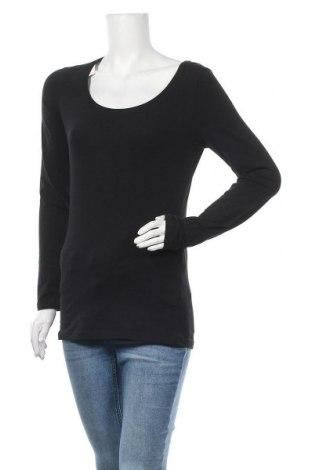 Γυναικεία μπλούζα Lindex, Μέγεθος S, Χρώμα Μαύρο, 95% βαμβάκι, 5% ελαστάνη, Τιμή 9,38€