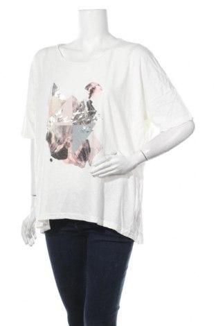 Γυναικεία μπλούζα Lindex, Μέγεθος XL, Χρώμα Λευκό, 60% βαμβάκι, 40% λινό, Τιμή 11,69€