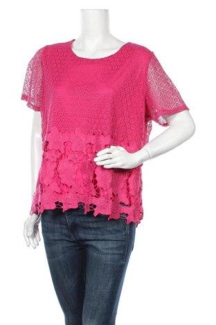Γυναικεία μπλούζα Liz Jordan, Μέγεθος XL, Χρώμα Ρόζ , Πολυεστέρας, Τιμή 11,69€