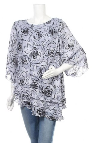 Γυναικεία μπλούζα Liz Jordan, Μέγεθος XXL, Χρώμα Γκρί, Πολυεστέρας, Τιμή 11,04€