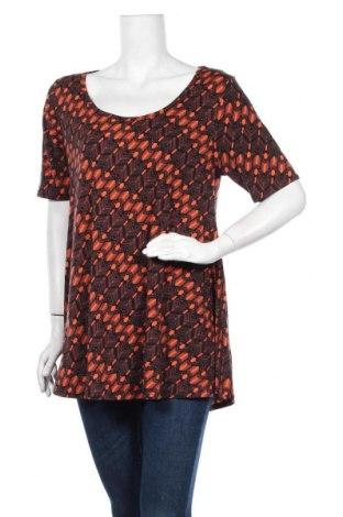 Дамска блуза LulaRoe, Размер M, Цвят Многоцветен, 96% полиестер, 4% еластан, Цена 4,73лв.