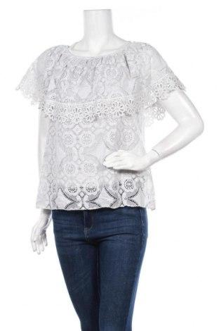 Γυναικεία μπλούζα Made In Italy, Μέγεθος XL, Χρώμα Γκρί, 30% πολυαμίδη, 70% βαμβάκι, Τιμή 9,09€