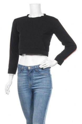 Γυναικεία μπλούζα Made In Italy, Μέγεθος M, Χρώμα Μαύρο, 95% πολυεστέρας, 5% ελαστάνη, Τιμή 8,83€