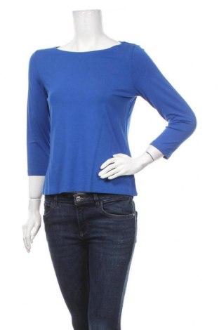 Γυναικεία μπλούζα Madeleine, Μέγεθος M, Χρώμα Μπλέ, 95% βισκόζη, 5% ελαστάνη, Τιμή 19,74€