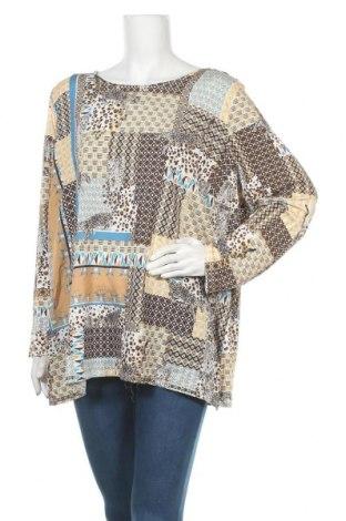 Γυναικεία μπλούζα Maggie T, Μέγεθος 3XL, Χρώμα Πολύχρωμο, Πολυεστέρας, Τιμή 12,96€